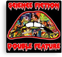 Science Fiction / Double Feature (LIPS! LIPS!! LIPS!!!) Canvas Print
