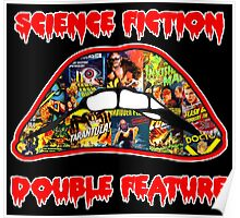 Science Fiction / Double Feature (LIPS! LIPS!! LIPS!!!) Poster