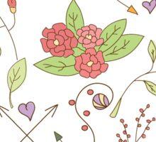 Flower pattern 01 Sticker