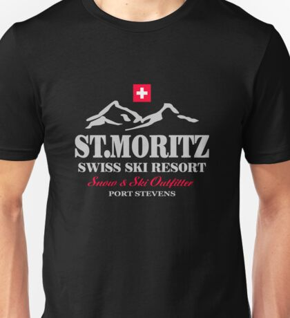 St.Moritz - Swiss Alps Unisex T-Shirt