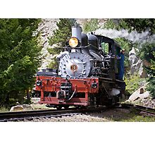 Steam Engine No. 9 (Color) Photographic Print