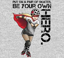 Be Your Own Hero Womens Fitted T-Shirt