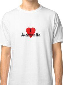 I Love Australia - T-Shirt & Sticker Classic T-Shirt
