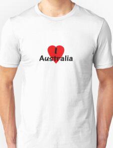 I Love Australia - T-Shirt & Sticker Unisex T-Shirt