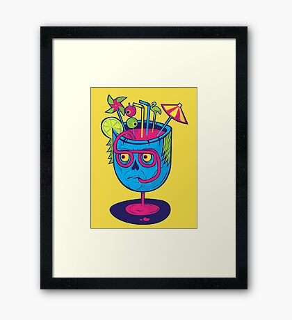 Pineal Colada Framed Print