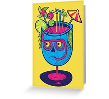 Pineal Colada Greeting Card