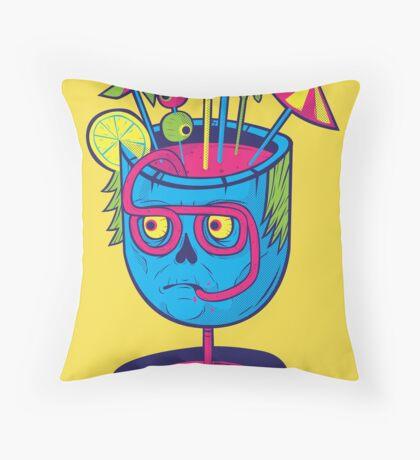 Pineal Colada Throw Pillow