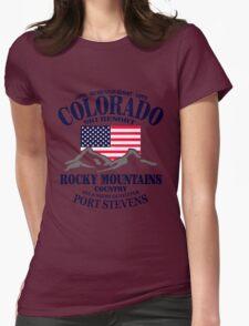Aspen - Colorado ski resort Womens Fitted T-Shirt