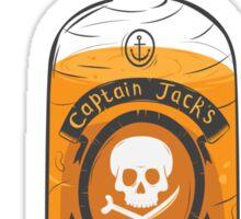 Captain Jack's special rum reserve Sticker