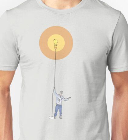 light bulb  Unisex T-Shirt