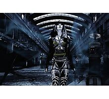 DWR Futuristic Cyborg and Retro Robots Photographic Print