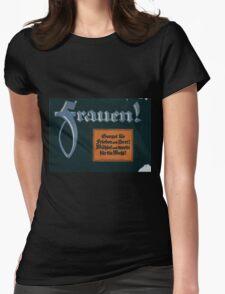 Frauen! Sorget für Frieden und Brot! Wählet und werbt für die Wahl! 1379 Womens Fitted T-Shirt