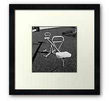 See-Saw Framed Print