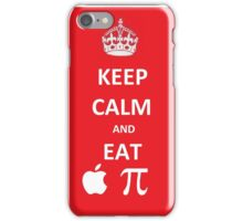 Eat Apple Pi iPhone Case/Skin