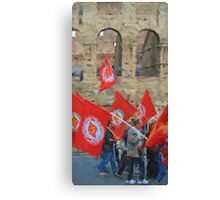 The Protest Canvas Print