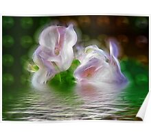 FLORAL REFLECTION Poster