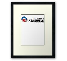 Oakenshield for Prez Framed Print