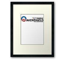 Oakenshield for Prez Framed Print