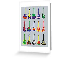 Guitar Heroes  Greeting Card
