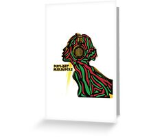 A tribe called quest ATCQ Daylight Marauders Greeting Card