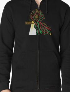 A tribe called quest ATCQ Daylight Marauders Zipped Hoodie