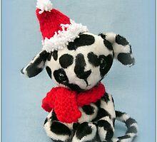 Handmade bears from Teddy Bear Orphans - Spot the Dalmation pup by Penny Bonser