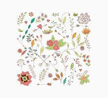 Flower pattern 01 Unisex T-Shirt