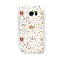 Flower pattern 01 Samsung Galaxy Case/Skin