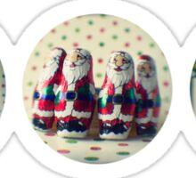 Christmas trio Sticker