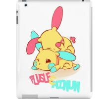 Plusle & Minun iPad Case/Skin