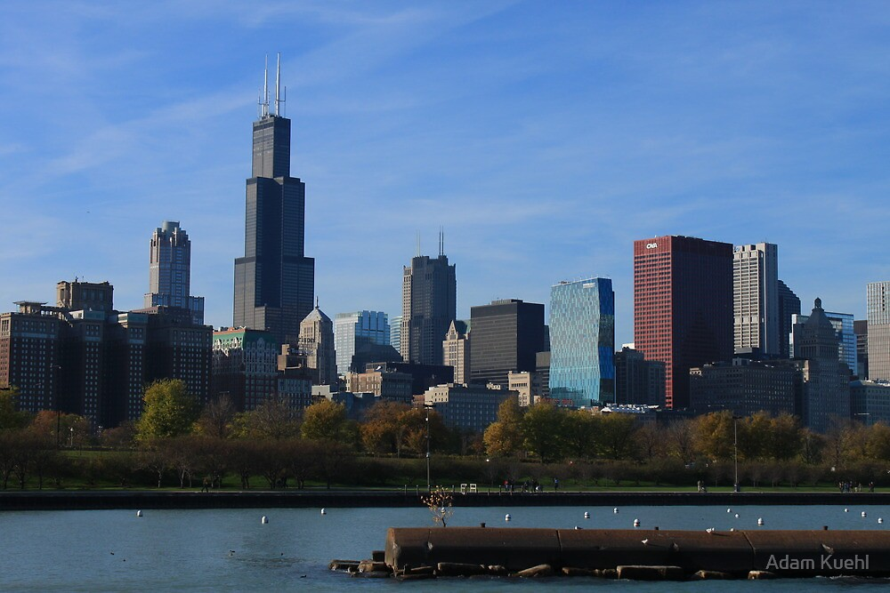 The Sears Tower by Adam Kuehl