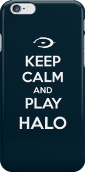 Keep calm and play Halo by aizo