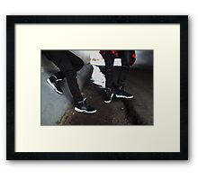Air Jordan Oreo 5 Framed Print