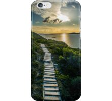 Sunset over King George Sound iPhone Case/Skin