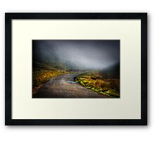 Mystery Road Framed Print