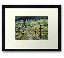 The Nurse's Place Clinton B.C.  Framed Print