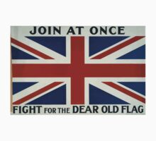 Join at once Fight for the dear old flag 371 Kids Tee