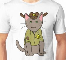 Rick Grimes Kitty Unisex T-Shirt