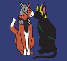 Thor & Loki Kittys by BegitaLarcos