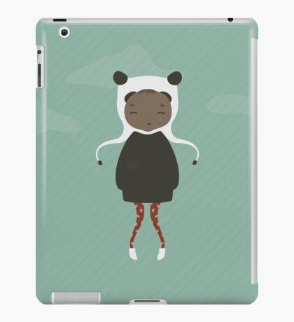 Gracie in Blue iPad Case/Skin