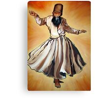 Semasen - Sufi Whirling Dervish Canvas Print