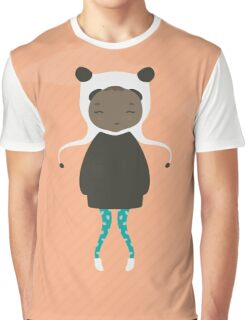 Gracie in Orange Graphic T-Shirt