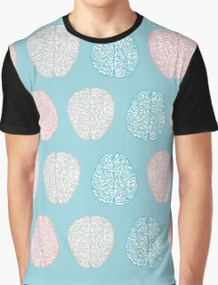 Brainy Pastel Pattern Graphic T-Shirt