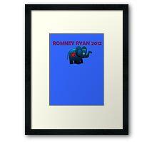 Romney Ryan 2012  Framed Print