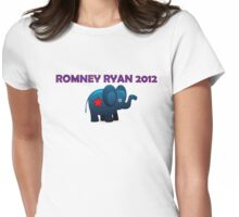 Romney Ryan 2012  Womens Fitted T-Shirt