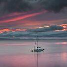 Sunrise At Carsethorn by Brian Kerr
