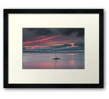 Sunrise At Carsethorn Framed Print