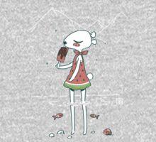 Summer Bear One Piece - Long Sleeve