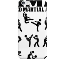 MMA Mixed Martial Arts iPhone Case/Skin