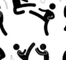 MMA Mixed Martial Arts Sticker